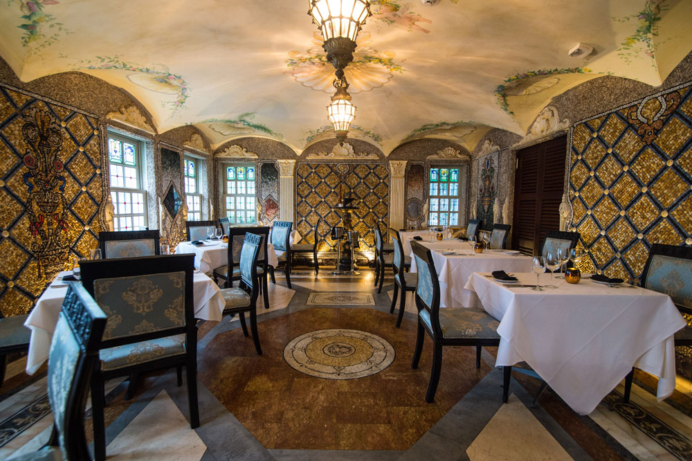 Gianni's at the Villa Casa Casuarina   It might be difficult to get a room at Casa Casuarina Hotel. But, it would be amazing to dine at their restaurant and get a taste of the Mediterranean mansion, former home of fashion designer Versace.