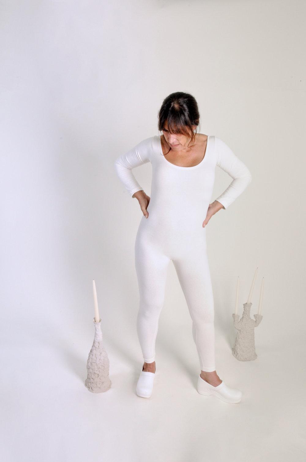 oat milk body suit - 0227COLOR : IVORYFABRIC : COTTON JERSEYCONTENT : 100% ORGANIC COTTONWHOLESALE $49 / RETAIL $98SIZES : S / M / L