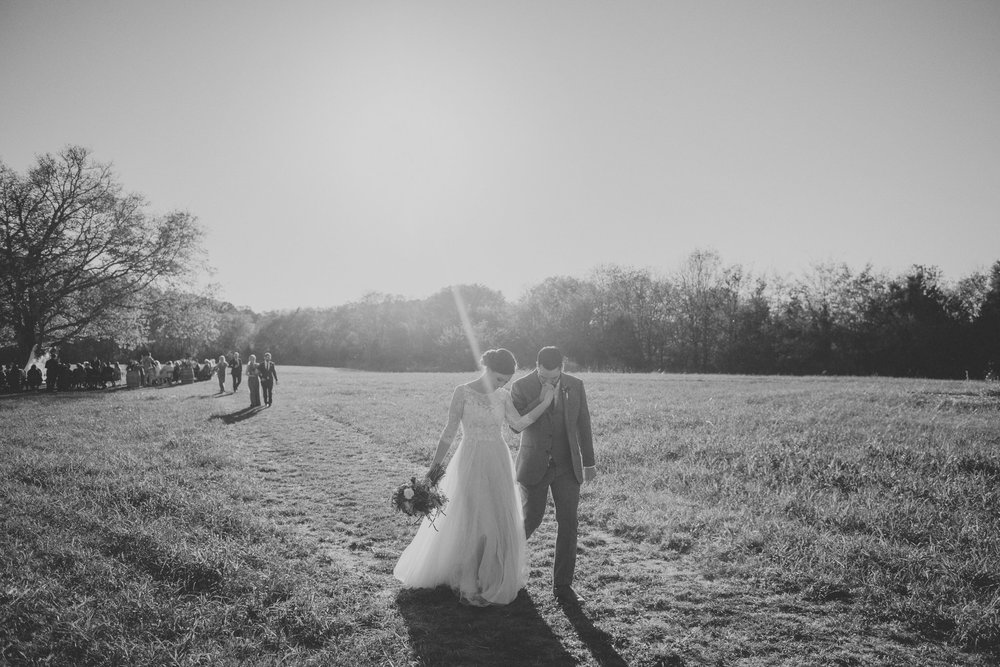 Nashville wedding photographer at Southall Meadows