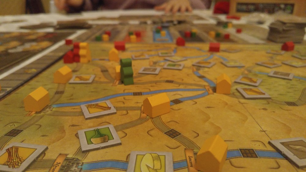 Orleans (Cameron was playing Yellow)