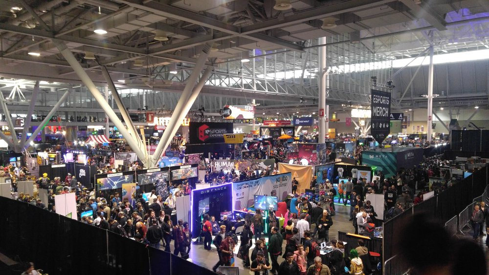 The Floor at PAX East 2017