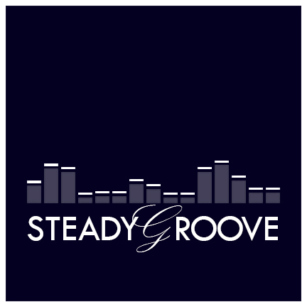 Steady Groove   Logo mark created for use by Seattle-based DJ Steady Groove. Primarily used for social media marketing.