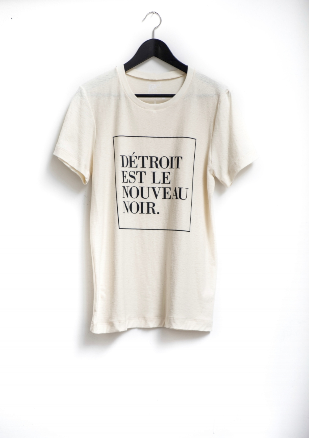 """Détroit Is The New Black """"French Bone"""" Tee"""