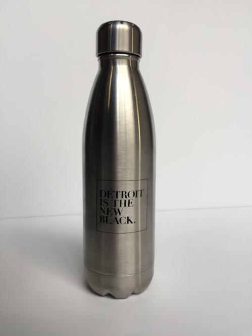 Détroit Is The New Black Woodward Water Bottle