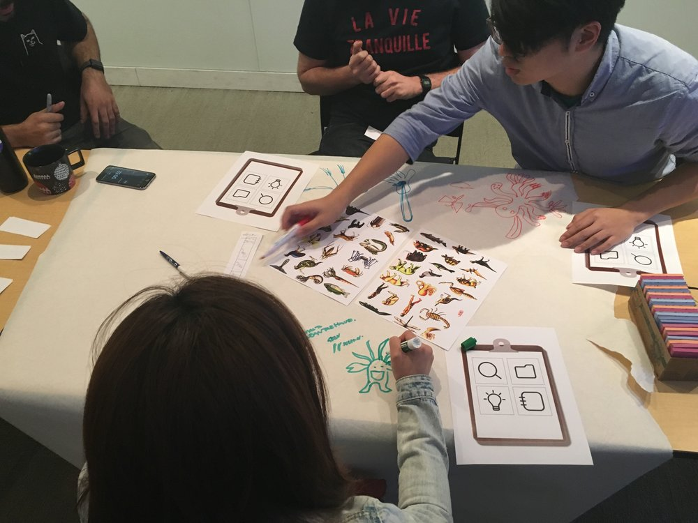 Experience prototyping