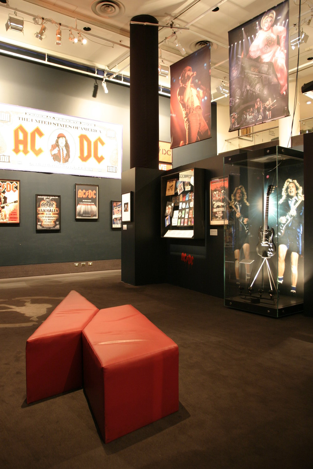 AC/DC: Australia's Family Jewels exhibition