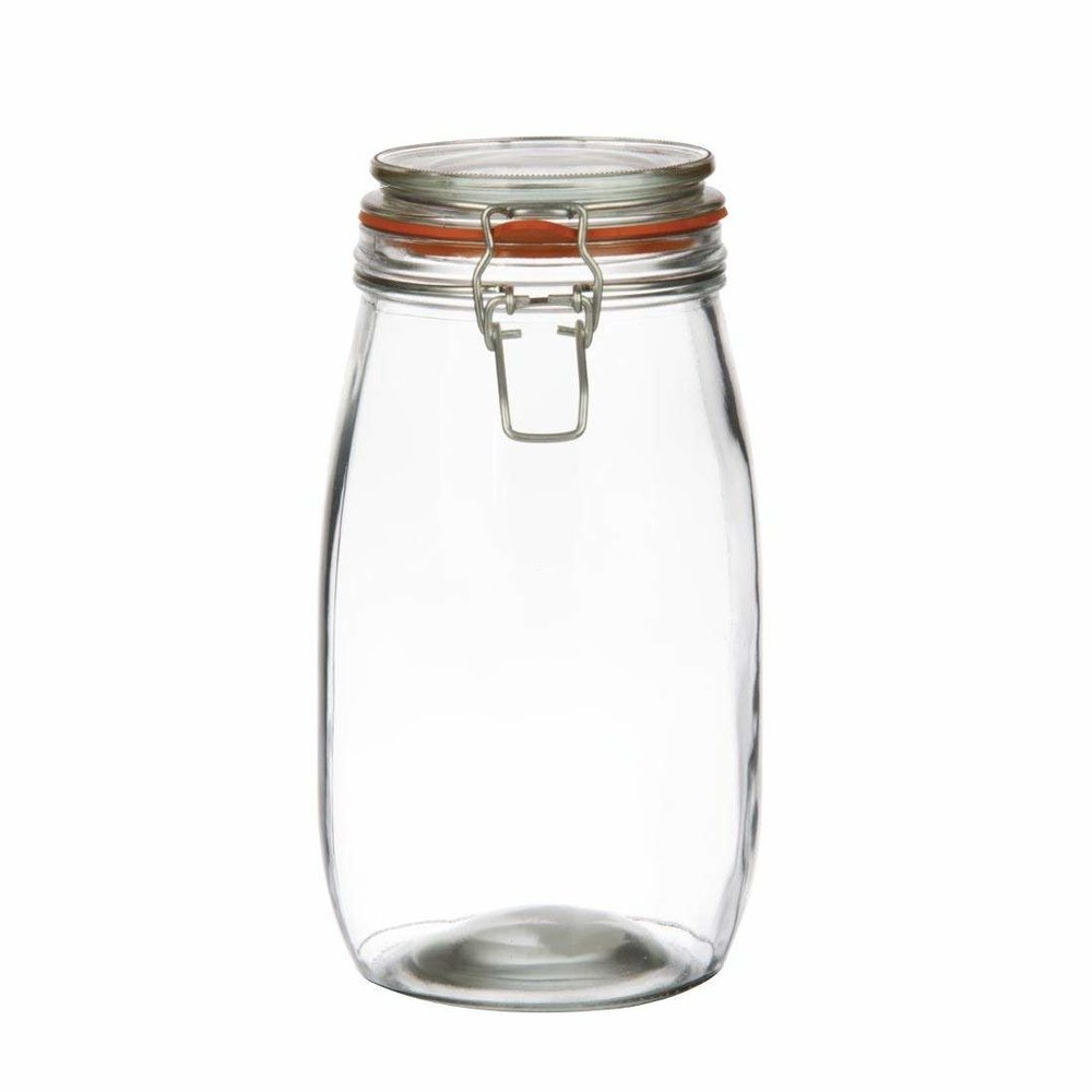 FERMENTATION VESSEL:Great for Water Kefir, and large batches of ferments -