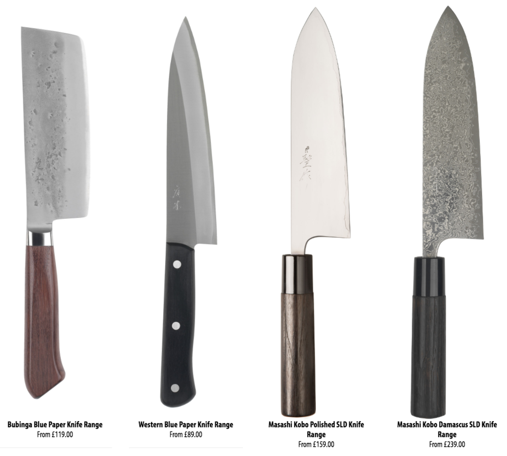 NIWAKI KNIVES:Kitchen knives, as recommended byGutsy Flora -