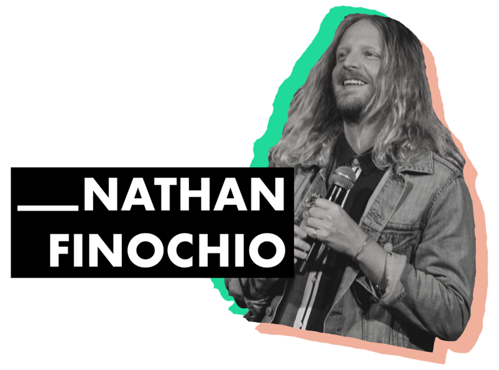 - Nathan Finochio is the Teaching Pastor at Hillsong NYC, lives in Brooklyn with his wife, Jasmine, and enjoys eating the middle of an Oreo and then throwing the disgusting cookies in the trash.