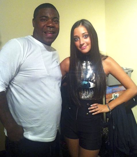 Tracy Morgan & Jenna Rose