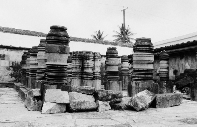 Lathe-Turned Stone Pillars, Belur