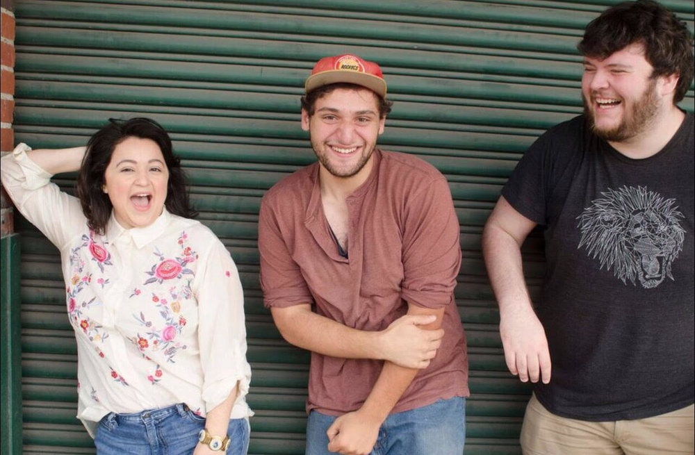 "MISNOMERS. is made up of Robert Meek, Gabriel Regojo and Laura Moreno - three friends who like beer, food and to chat about making theatre. The trio has known each other since their days at the University of Houston, where they earned their BFAs in Acting. After graduating and working in the professional theatre community for a bit they decided to stop just talking and start doing. And thus the brainstorming began! So here they are, a new theatre group in HTX - excited to be working with and operating through Rec Room Arts. Armed with a number of goals and ideas but ultimately dedicated to make the familiar unfamiliar and vice versa, to create a safe environment for artists to hone their craft & sharpen their skills, to experiment and sometimes fail but above all have fun. They aim to break stereotype, to step out of the boxes society has placed us in. Their first project is a play reading series titled ""They Read from a Script"", but be sure to keep an eye out for more to come!"