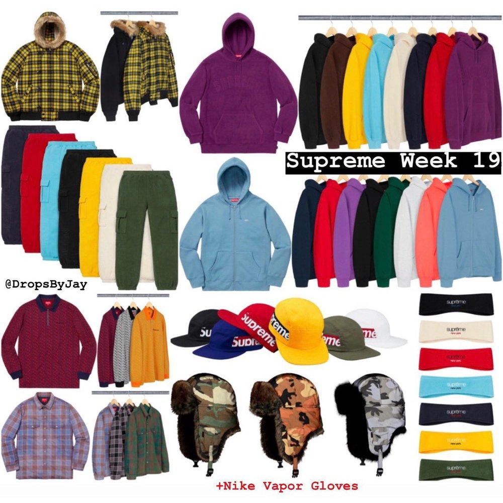 Supreme Week 19