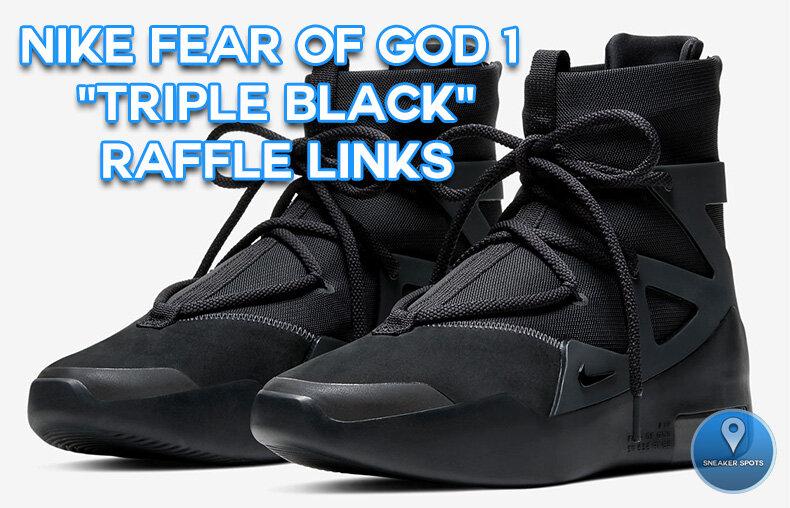 Nike Fear of God 1 \