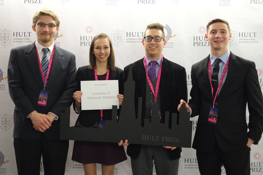 The Metrecycle Squad at Hult Prize Regional finals in San Francisco.