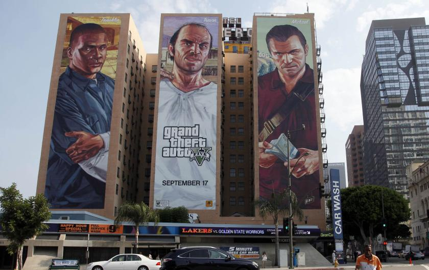 GTA 5 Marketing