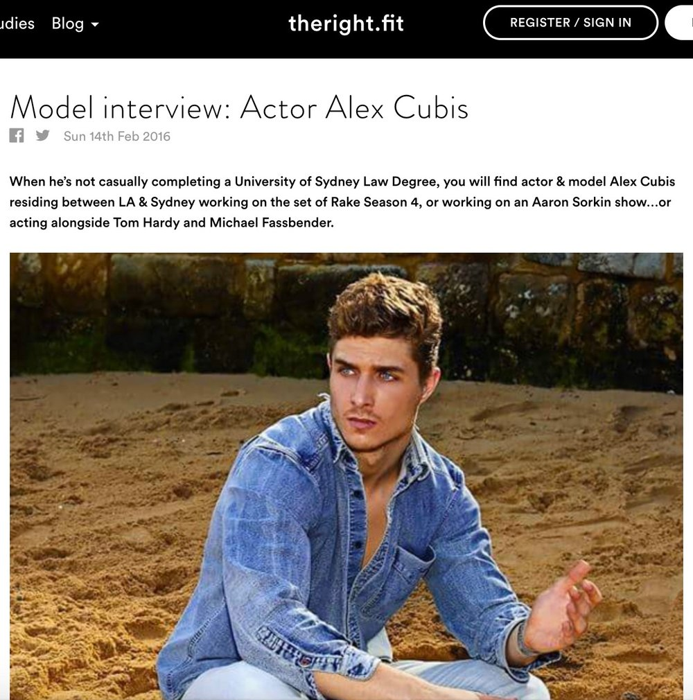 theRight.fit Blog: Alex Cubis Interview