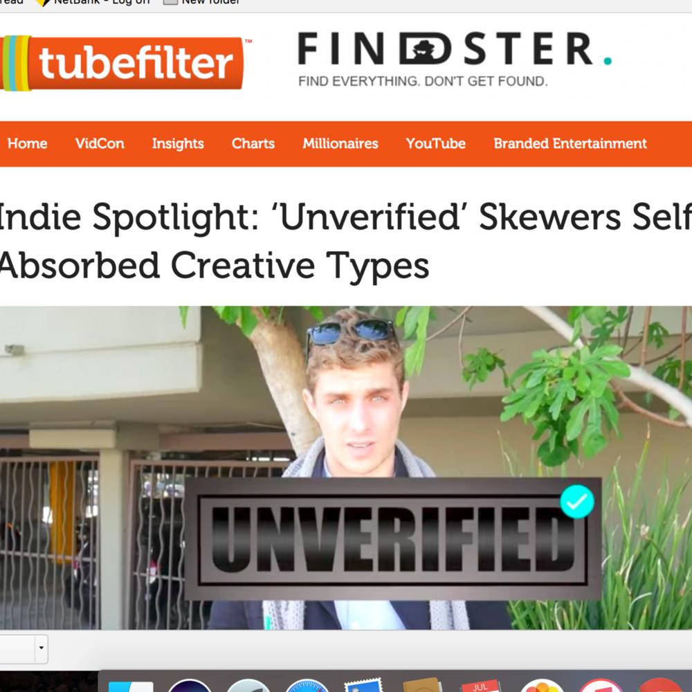 Tubefilter Profile: UNVERIFIED by Alex Cubis