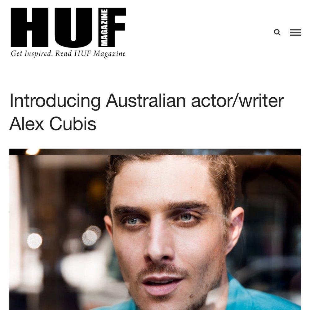 Alex Cubis Huf Magazine Interview