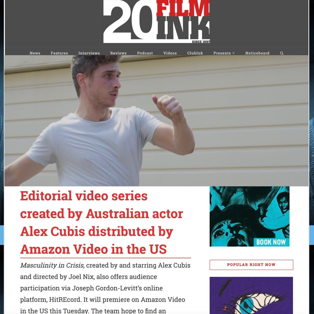 Film Ink Press Release