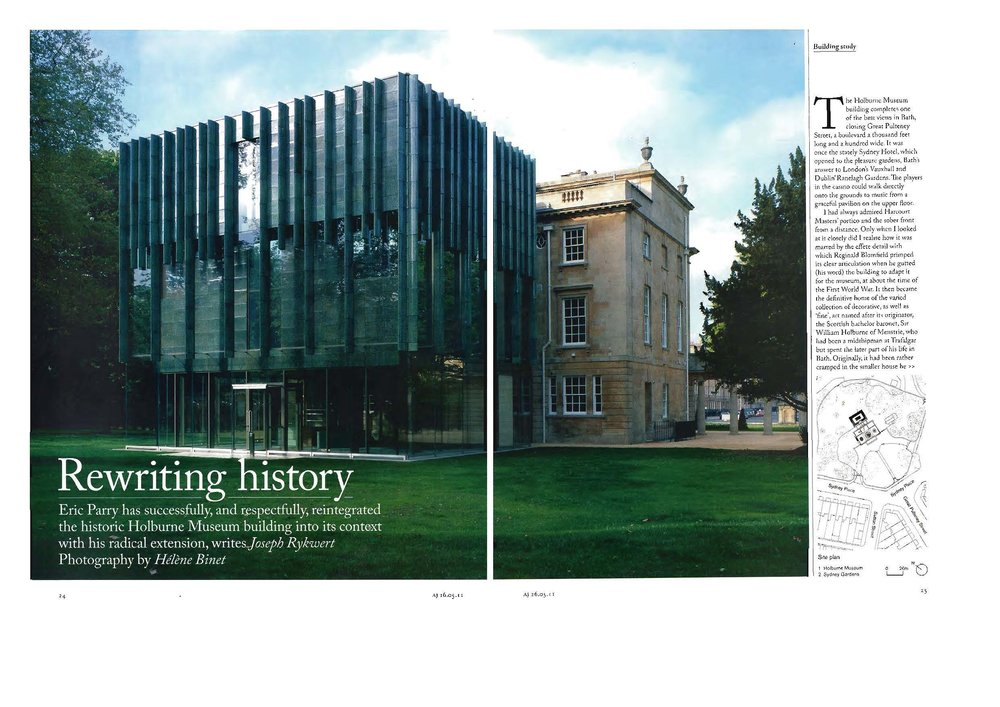 Rewriting History: The Holburne Museum