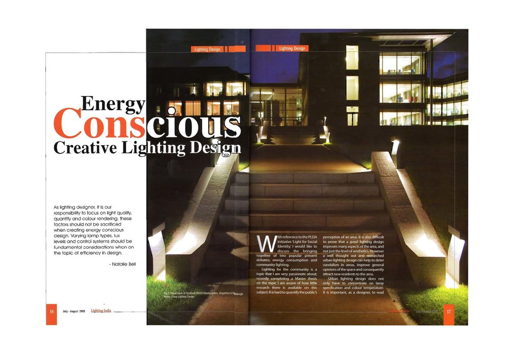 Energy Conscious Creative Lighting Design