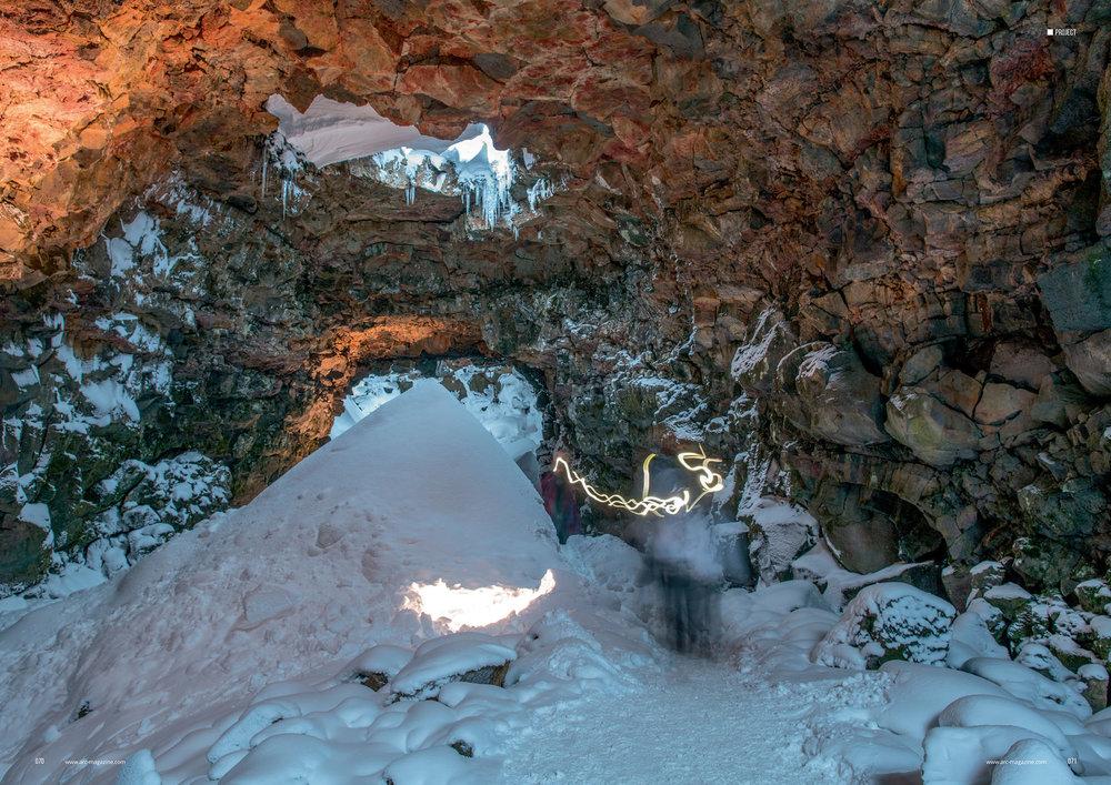 arc magazine_107_Lava Tunnel article_pp70-71w.jpg