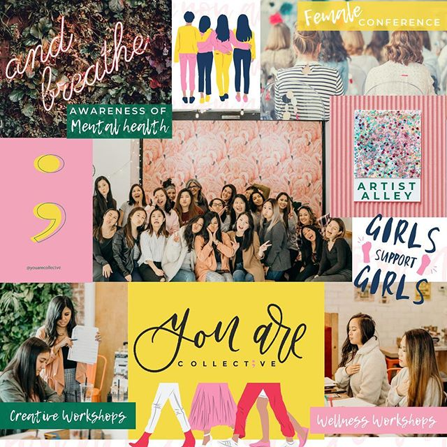 I'm a visual person so it took me quite some time to share with you all the vision board that has been in my head. Lol! Yeah 5 days before the deadline to our kickstarter Cherelle!! I know I know. . This is the vision behind You Are Collect;ve.⁣ .⁣ A 1-day life-changing event for females! Yes, we are supporting GIRLS & WOMEN during this event that aims to connect and create a space of belonging and awareness of our Mental Health. ⁣ .⁣ Speakers, Panelists, Local Vendors, Nonprofits, Live Entertainment, Swag Bags, Creative & Wellness Workshops, and Insta-worthy Artist Alley.⁣ More info to be released soon!⁣ ⁣ Only a few days for our Kickstarter! Pledge $35 now or whatever you feel called to, but help us get to our goal! Kickstarter is an ALL or NOTHING campaign so if we hit our goal, we will be able to plan accordingly by schedule to get this event up and running by October 2019. The $35 pledge gets you two tickets for the price of one and allows you to be part of this never before seen event! And if you are not in the area, please support our vision, your support matters near or far. Because you're believing in our vision way before it's ever happened. LINK IN BIO!! ☝🏽 . THANK YOU to everyone who has been showing up, and most especially GOD, thank you for your hands in this. I'm so blessed. .⁣ Photographer: @kristinlinphotography Lettering Community: @caffeinatedletters .⁣ .⁣ .⁣ .⁣ .⁣ .⁣ .⁣ .⁣ #youareconnected #youarecollective #youareloved #youareproject #passionproject #mentalhealthawareness #believeinyourself #affirmations #loveyourself #selflove #dailymindset #growthquotes #growthmindset #selfcare #mentalhealth #womenconference #womenhelpingwomenwin #itsyourjourney #positivejourney #reasonswhy #communityofwomen #youarecollectivevalues #missionandvalues #femaleconference #girlconference #fomo #youarethereasonwhy #godisgood #godshand #injesusname