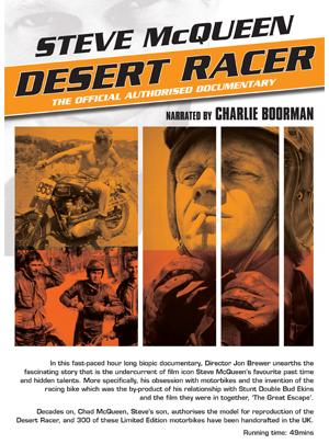 Steve McQueen Desert Racer