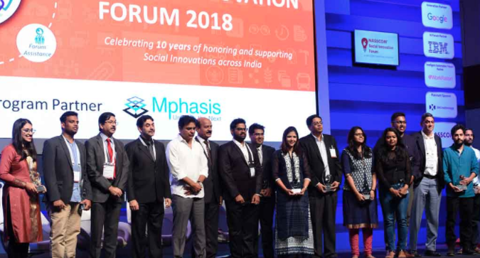 Empathy Design Labs won NSIF 2018 winner trophy for Healthcare category