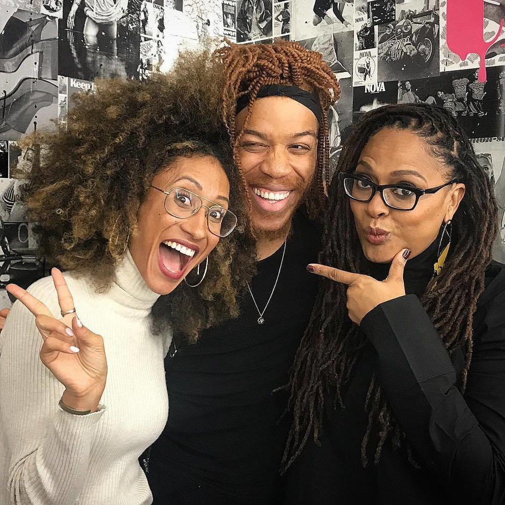 TEEN VOGUE EIC: ELAINE WELTEROTH; EMMY AWARD WINNER: AVA DUVERNAY. I mean, girl bosses unite!