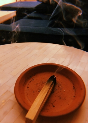 Sourced from  Sacred Wood Essence :   Palo Santo   is a mystical tree that grows on the coast of South America and is related to Frankincense, Myrrh and Copal.