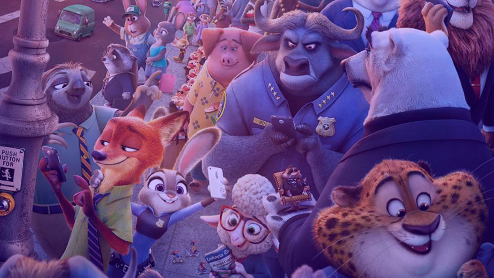 Zootopie, film d'animation des studios Disney réalisé par Byron Howard et Rich Moore.