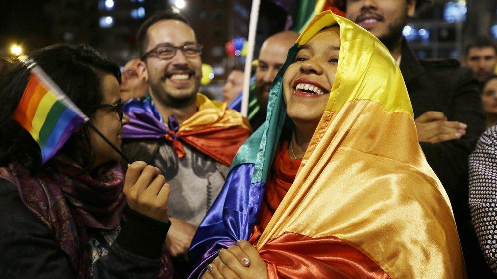 Peace at last in Colombia (AP Photo/Fernando Vergara)