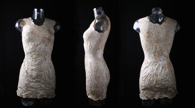- The dress by Hoitink is compostable.