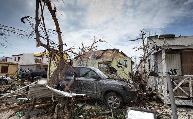 - In the aftermath of Hurricanes Irma and Harvey, Pope Francis has blasted climate change sceptics.