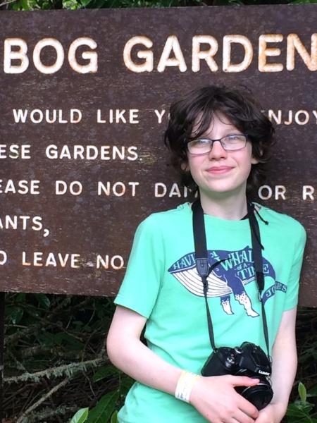 Young activitist Dara McAulty.