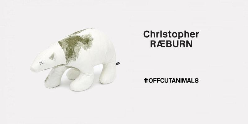 Always popular: Christopher Raeburn's offcut animals series.