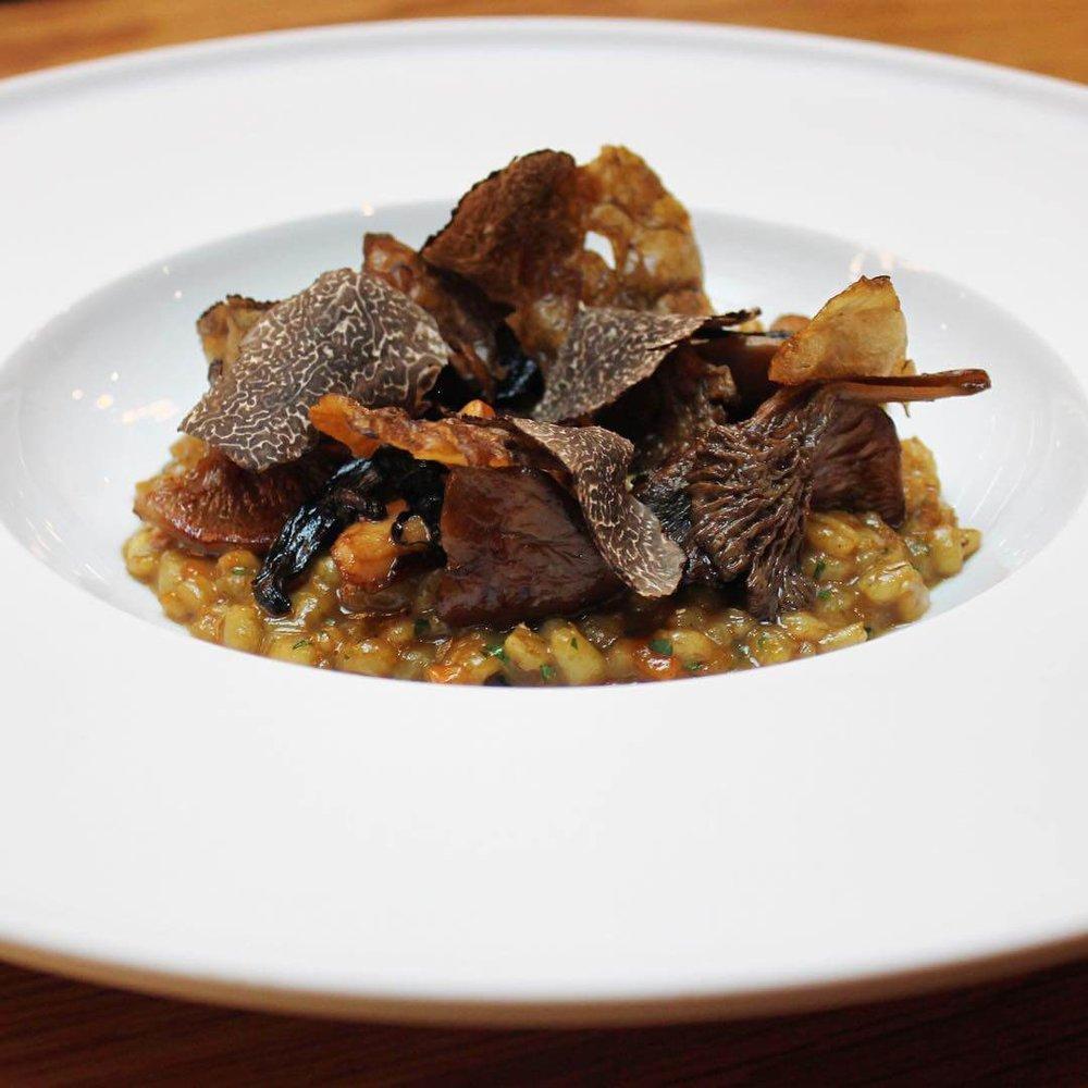 BEST VEGAN LUXURY FOOD - Pollen Street Social Vegan Tasting Menu Chef Jason Atherton's Michelin-starred London restaurant offers diners a luxurious eight-course vegan menu made from fresh seasonal ingredients.
