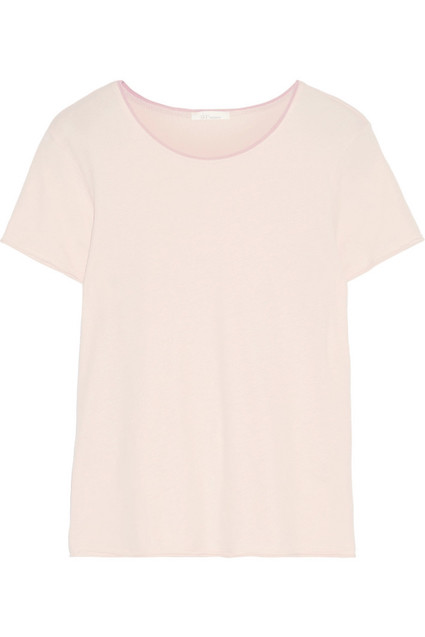Second skin - Skin creates luxuriously soft sleepwear. Made from superfine organic Pima cotton-jersey, this 'Eulalie' top, £70, is cut for a relaxed fit and detailed with antique-rose trim along the neckline.www.net-a-porter.com