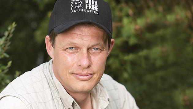 Will Travers OBE, founder of The Born Free Foundation.