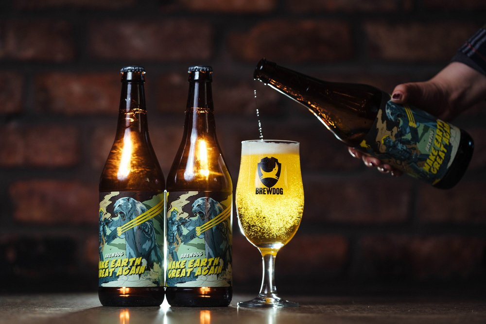 Using the universal language of beer. Picture: BrewDog.