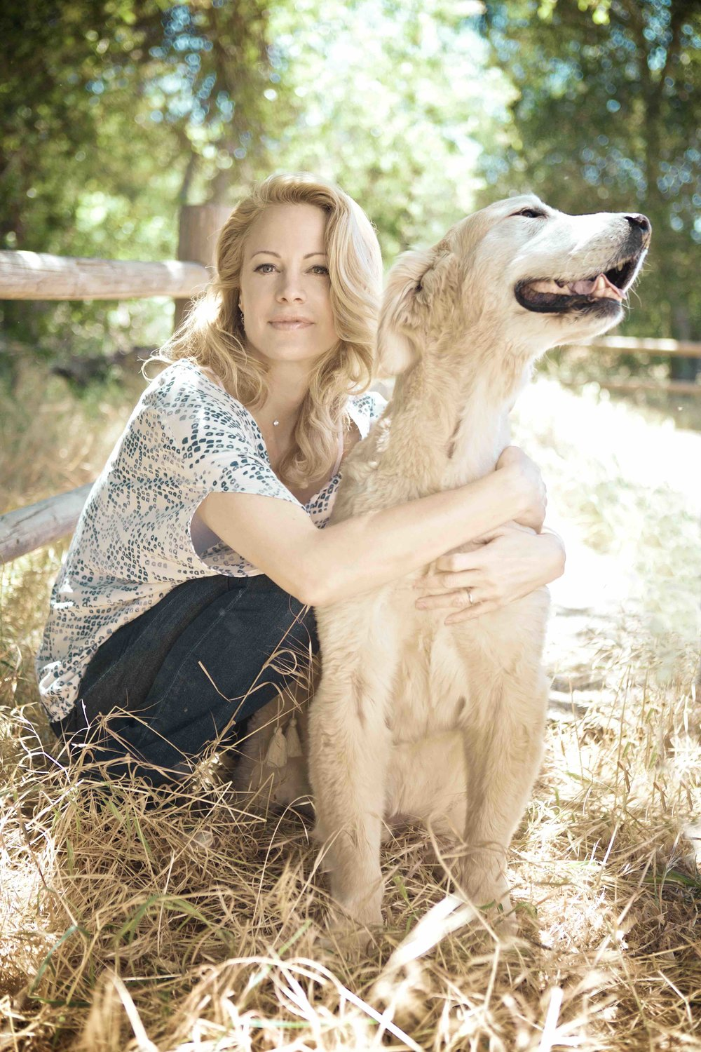 Alison Eastwood at home at the Eastwood Ranch. Picture: Volker Fleck.