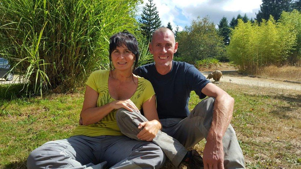 Sofie Goetghebeur and Tony Verhulst in Limousin