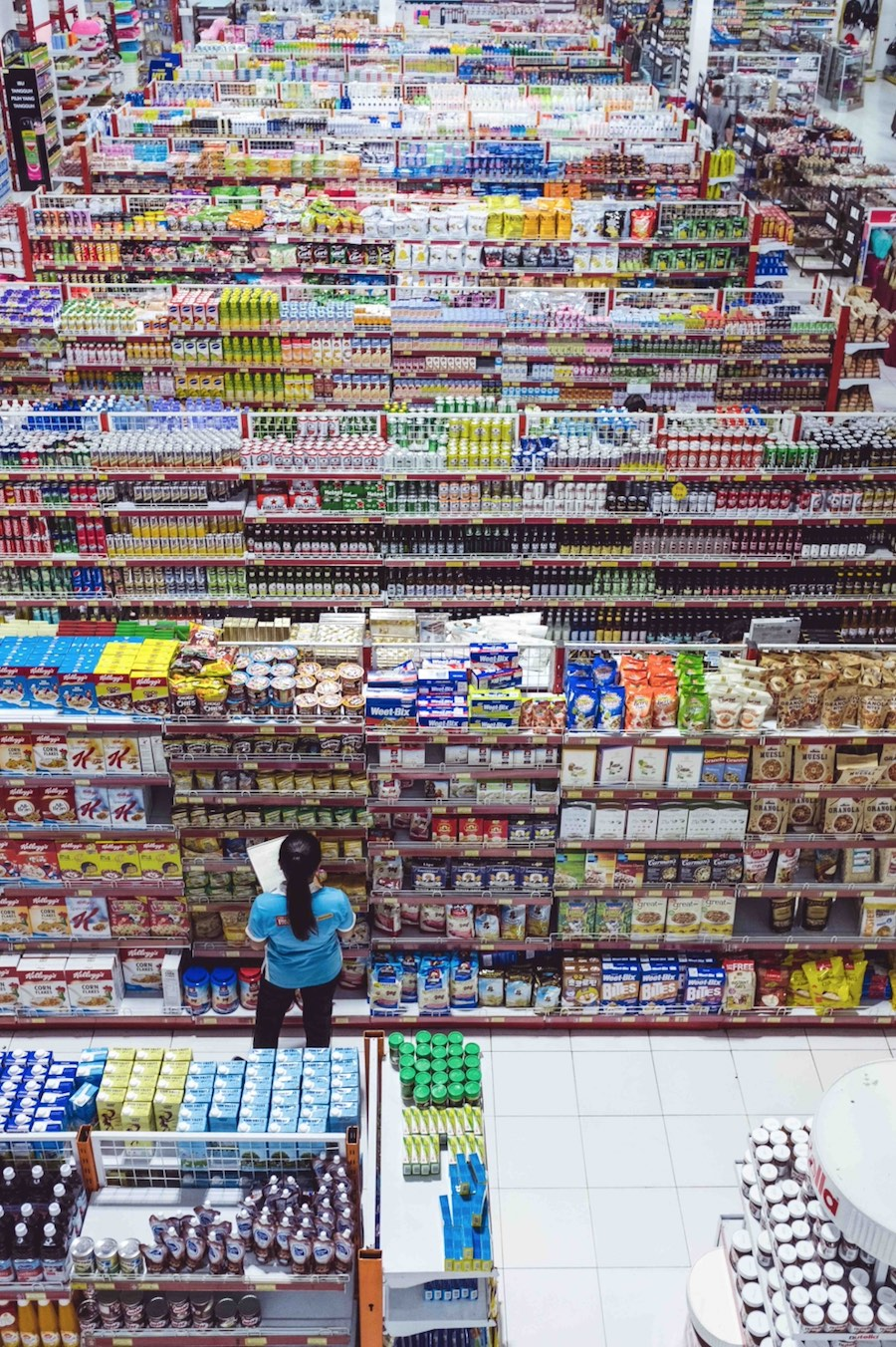A survey of major UK grocery retailers, their use of single-use plastic packaging and their targets to reduce it is taking place. Photo:Bernard Hermant on Unsplash.