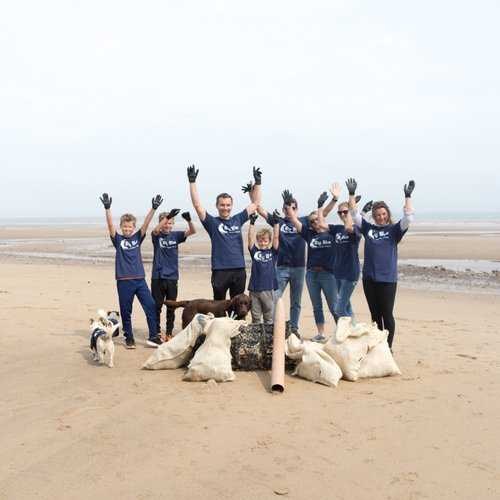 A jolly nice bunch of people: The Big Blue Ocean Clean Up.