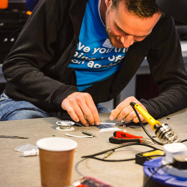 The Restart Project brings community members together to share skills, lend a hand and feel a bit more confident about dismantling (and re-mantling) the toaster.