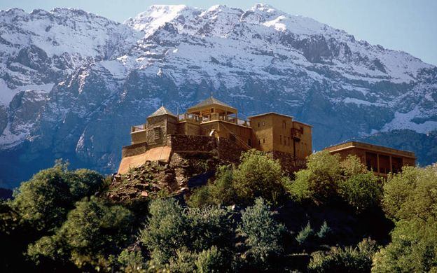 The former palace of a local baron, Kasbah du Toubkal encouraged visitors to engage with its local Berber hosts.