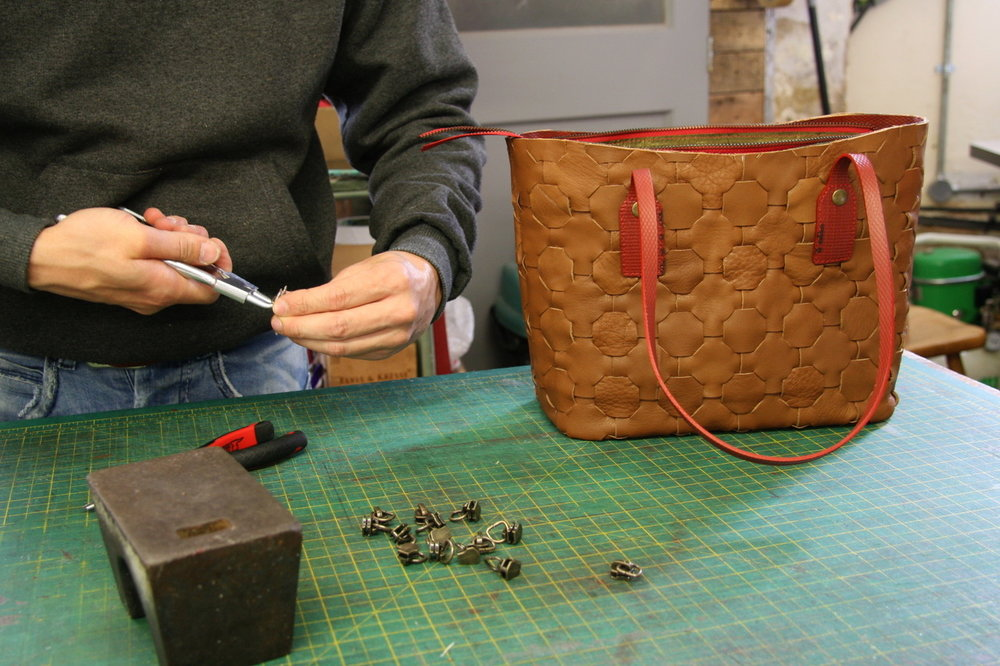 Elvis & Kresse make luxury accessories from reclaimed materials such as decommissioned firehose and leather offcuts.