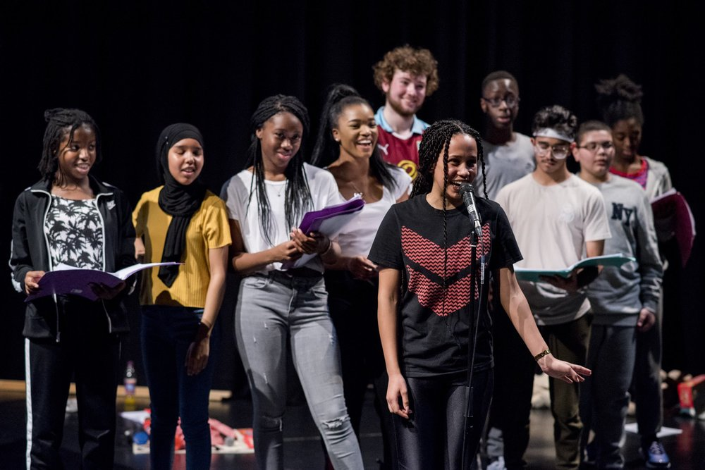 """""""We have loads to learn from their openness and understanding around issues of identity and difference."""" Company Three in action."""